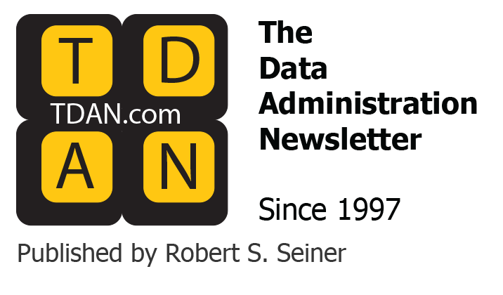 The Data Administration Newsletter logo