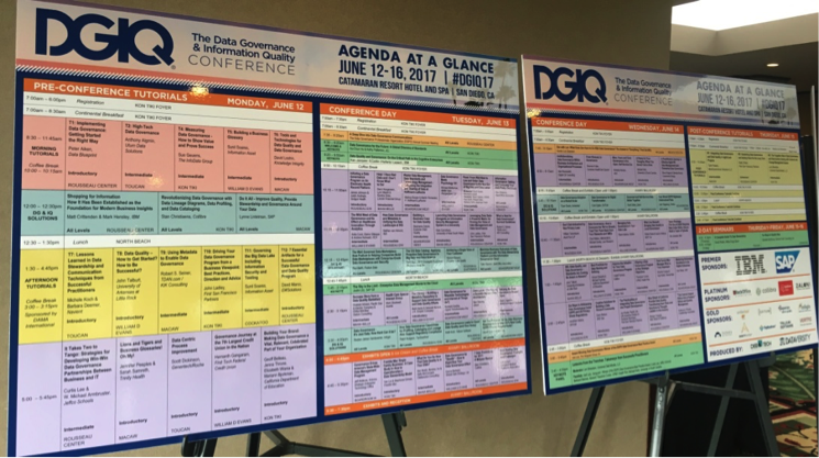 A packed agenda for DGIQ 2017.