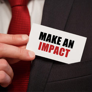 Make an Impact: Three Words to Irrelevancy